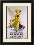 Playas de Levante Framed Giclee Print by  Morell