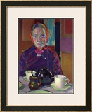 Portrait of Mrs. Mounter Posters by Harold Gilman