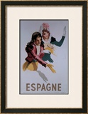 Espagne Framed Giclee Print by  Morell