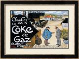 Coke de Gaz Framed Giclee Print by  Grignon