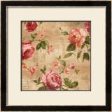 Rose Garden II Print by Renée Campbell