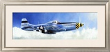 P-51D Mustang Framed Giclee Print by Douglas Castleman