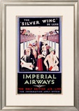 British Imperial Airways Framed Giclee Print by Charles C Dickson