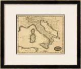Italy, c.1812 Framed Giclee Print by Aaron Arrowsmith