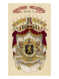Belgian Coat of Arms Giclee Print