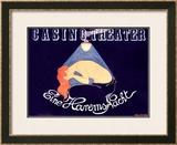 Casino Theatre Framed Giclee Print by Hans Baluschek