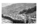 Bonanza, Sagnache County, 1881 Giclee Print