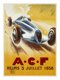 Acf - Reims 1938 Giclee Print