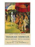 British Empire Marketing Board Poster - Takoradi Harbour Giclee Print