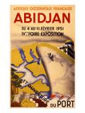 Abidjan Exposition Poster Giclee Print