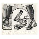 Breuillard's Device to Assist Walking Giclee Print