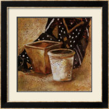 Pot et Tissus II Art by Olga Ilic