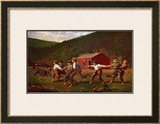 Snap the Whip Posters by Winslow Homer