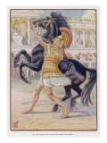 Alexander and Bucephalos Giclee Print