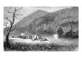 Bonanza, Sagnache County, 1880 Giclee Print