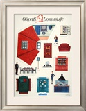 Olivetti Domus Life Prints by  Susay