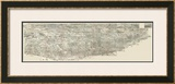 Composite Pictorial of St. Louis, c.1876 Framed Giclee Print by Richard J. Compton