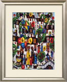 PAINTING BY NUMBERS 2 Limited Edition Framed Print by CHARLES MONTEITH WALKER