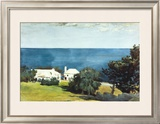 Shore at Bermuda Prints by Winslow Homer