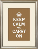 Keep Calm and Carry On Art