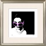 Glam III Limited Edition Framed Print by M.J. Lew
