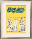 Cover For Verve, c.1951 Prints by Pablo Picasso