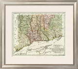 Connecticut, c.1796 Framed Giclee Print by Daniel Friedrich Sotzmann
