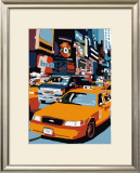 Taxi, New York Posters by Giovanni Manzo