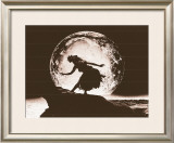 Moon Dancer, Hula Girl Art by Alan Houghton