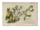 A Sprig of Mistletoe Giclee Print