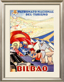 Bilbao Framed Giclee Print by Colde Guezala