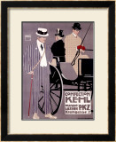 Kehl, PKZ Framed Giclee Print by Ludwig Hohlwein