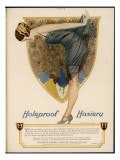 Advertisement for Holeproof Hosiery Giclee Print