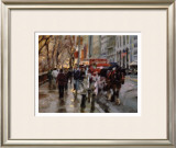 Horse and Carriage, New York City Prints by Desmond O'hagan