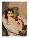 April, 1952 Giclee Print by David Wright