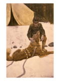 Call of Wild Giclee Print