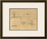 Polynesia, c.1812 Framed Giclee Print by Aaron Arrowsmith
