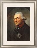 Friedrich II, der Grobe, Konig von Preuben Print by Anton Graff