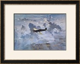 Lone Spitfire Prints by Gerald Coulson