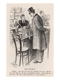Buying a Tie 1898 Giclee Print