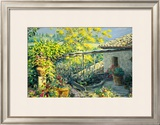Tuscan Terrace Prints by Gordon Breckenridge
