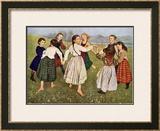 The Kindergarten Children Prints by Hans Thomas