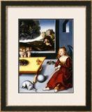 Melancholy, c.1532 Posters by Lucas Crana