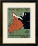 Pianos Ortiz & Cusso Framed Giclee Print by Leonetto Cappiello