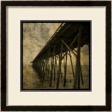 Ocean Pier No. 1 Art by John Golden