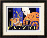 Mayami Framed Giclee Print by Kosel & Gibson