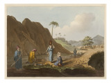 Arabs at Well, Jaffa Giclee Print