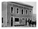 Bonanza Hotel, on the South of the Klondike River, Alaska Giclee Print