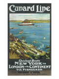 Cunard Line to New York Giclee Print