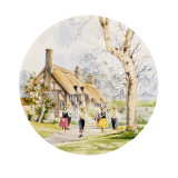 Anne Hathaway's Cottage - Stratford-Upon-Avon Giclee Print by Malcolm Greensmith